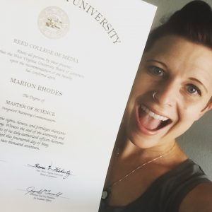 Marion Rhodes Master of Science in IMC